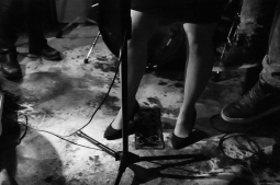 Photo taken by Laura Crowell at Poetry Jazz Cafe.